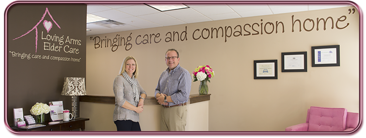 Loving Arms Elder Care Banner